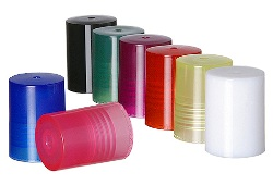 AC07 PINK COLOR CAP For 1/3 oz Roll on Glass Bottle